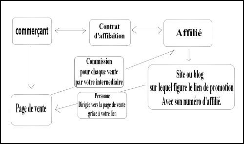Affiliation schéma