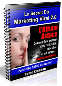 "Les secrets du"" Marketing viral"""