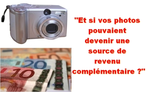 Gagner de l'argent grâce à vos photos