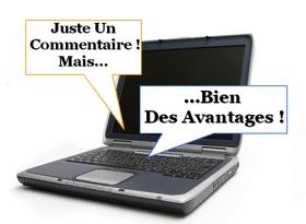 Faire un commentaire de blog peut s'avérer bien utile...