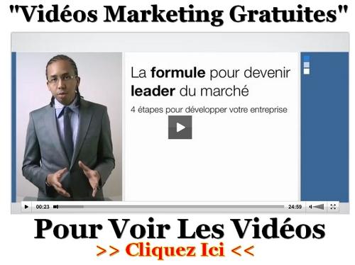 Découvrez les vidéos de formation au marketing Internet du Marketeur Français